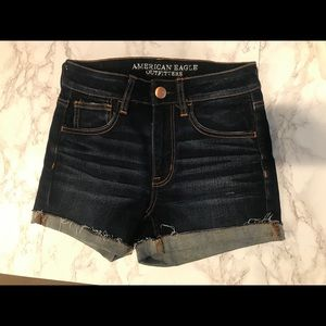 American Eagle High Rise Shortie Size 2